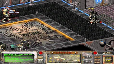 fallout 2 console lets play fallout 2 episode 51 glitched out console