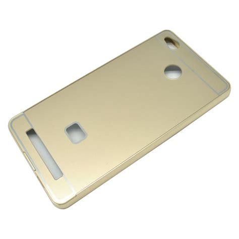 Aluminium Bumper With Pc Back Cover For Xiaomi Mi Max Golden 44sfbn 2 aluminium bumper with pc back cover for xiaomi redmi 3 pro golden jakartanotebook