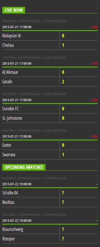 live scor mobile personal livescore getbutterfly
