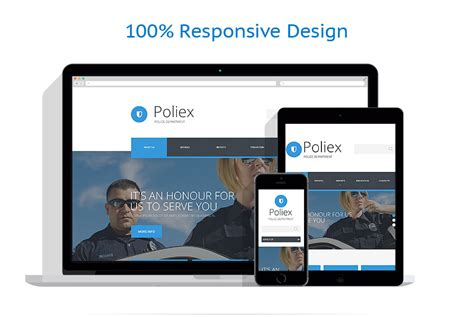 templates for police website police website template