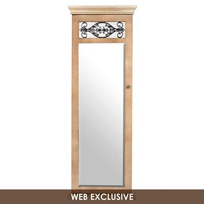 kirklands jewelry armoire kirklands cream scroll jewelry armoire mirror customer