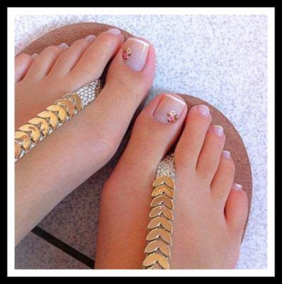 imagenes uñas decoradas delos pies las 25 mejores ideas sobre u 241 as decoradas para pies en