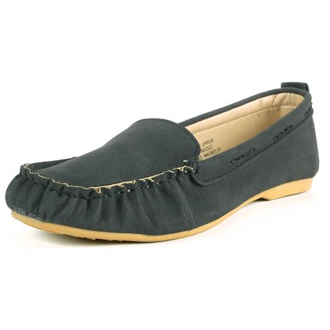 ballet flat loafers alpine swiss magnolia womens moccasin loafers suede lined
