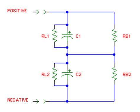 capacitor in series to ground rap on replacing electrolytic capacitors