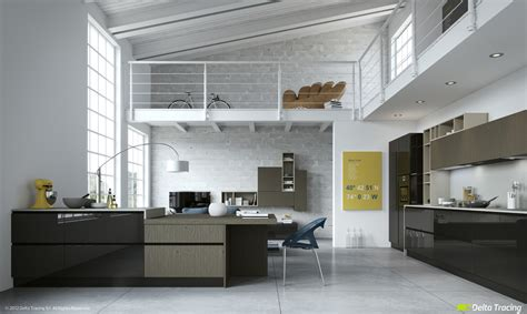 loft kitchen design 49 white loft kitchen interior design ideas