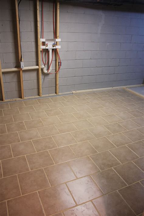 Kitchen Tile Flooring Ideas Pictures diy laundry room tiling bower power