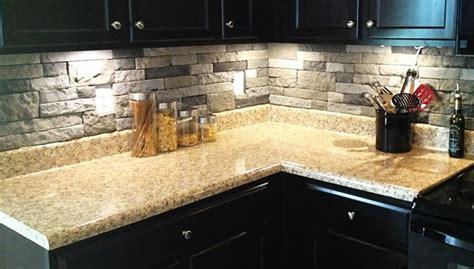 stone veneer kitchen backsplash pin by melissa zieleniewski on for the kitchen pinterest