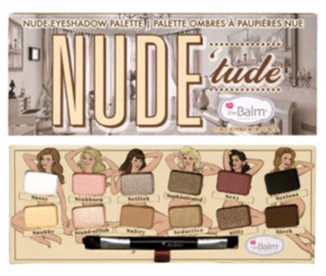 The Balm Eyeshadow Palette Tude the balm official retailer makeup co nz
