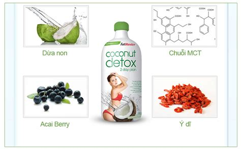 Fatblaster Coconut Detox 2 Day Plan Concentrate 750ml by Chia Sẻ Fatblaster 2 Day Coconut Detox 750ml Thuốc Giảm