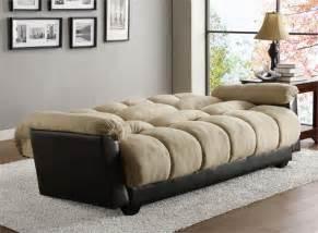 click clack beige futon sofa piper collection style 480mfr