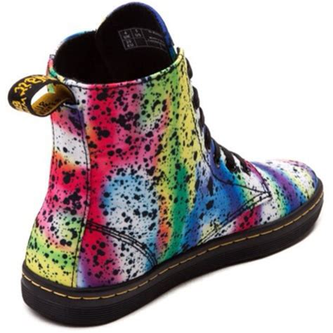 colorful boots shoes black shoes multicolor sneakers colorful pink