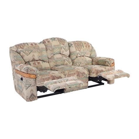 Recliner Sofa Fabric 82 Patterned Fabric Recliner Sofa Sofas