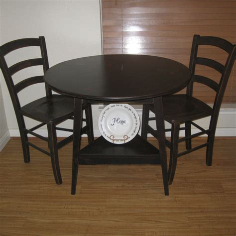 Circular Kitchen Table High Table And Chairs Precious Home Design