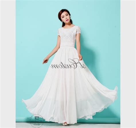 Maxi Flowy white flowy dress all dress