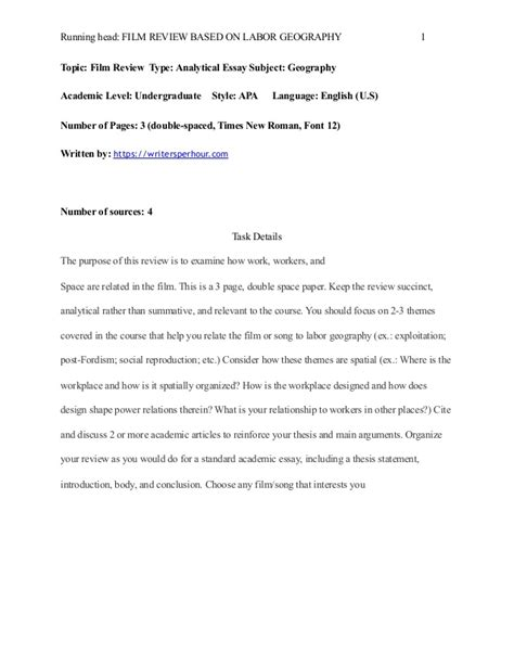 Essay On Geography by Geography Essay Exle