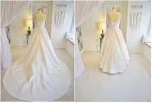 how to bustle your wedding dress essense designs