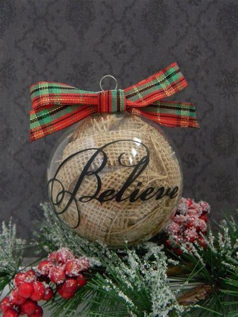 best 25 rustic christmas ornaments ideas on pinterest