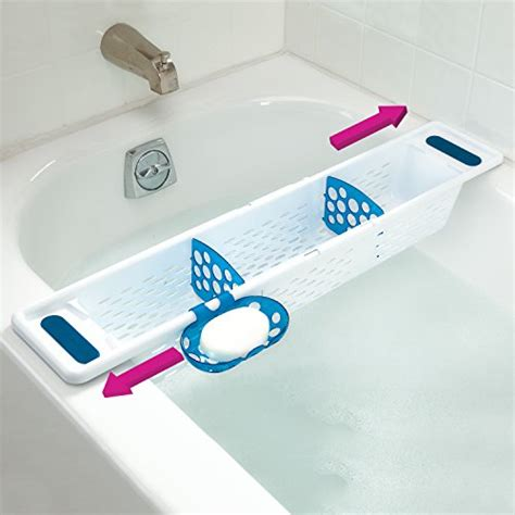 secure grip bath caddy bathtub kid soap bath shoo