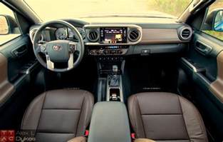Toyota Tacoma Interior 2016 Toyota Tacoma 3 5l V6 Engine 001 The About Cars
