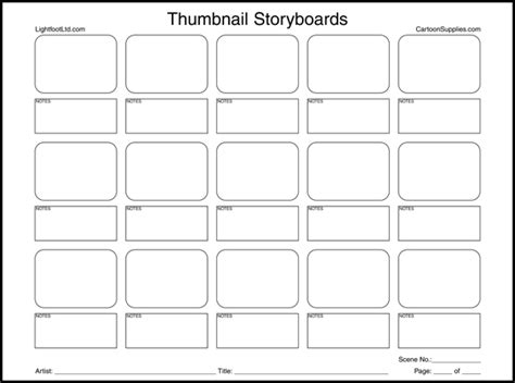 pin cartoon storyboard template sles on pinterest