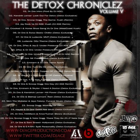 The Detox Chroniclez Vol 5 by Dj Age Dj Age Presents Dr Dre The Detox Chroniclez Vol 5
