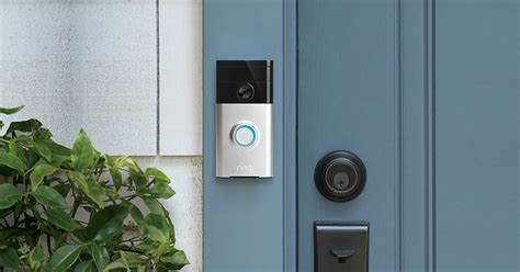 amazon com ring wi fi enabled video doorbell in satin nickel amazon completes its acquisition of ring the video