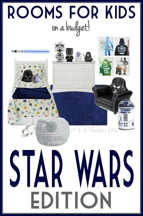 star wars bedroom decorating ideas  kids   budget