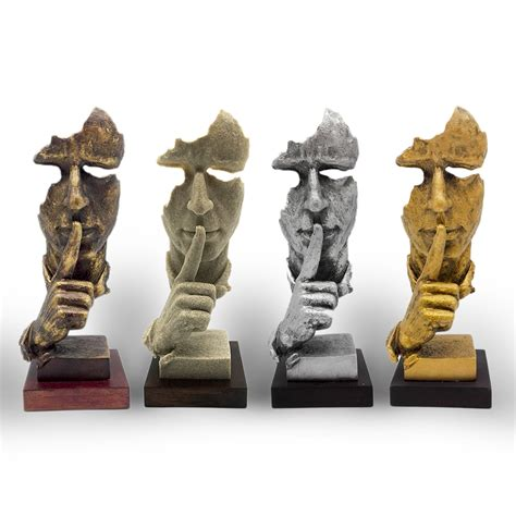 Home Decor Statues Free Shipping Decorative Craft Resin Figure Statue Abstract Sculpture Arts Modern Decoration For