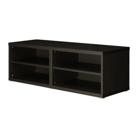 ikea besta vara tv stand best 197 shelf unit height extension unit black brown
