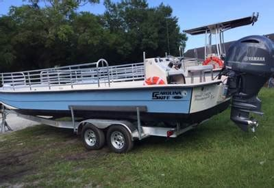 carolina skiff guide boat 2017 carolina skiff 2790 dlx coi passenger vessels marine