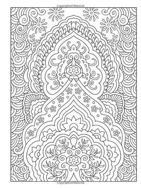 coloring book page designs creative haven mehndi designs coloring book traditional