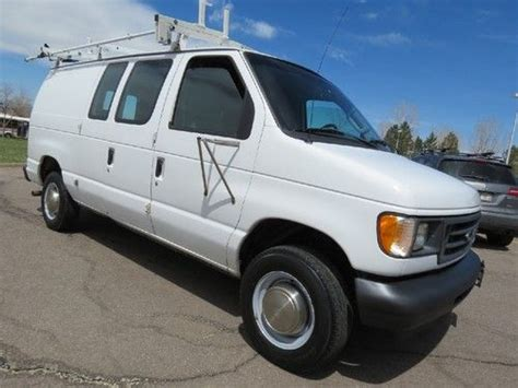 how cars engines work 2003 ford e series navigation system sell used 2003 ford e 250 cargo van clean shape prev comcast racks 1 owner fleet 5 4 v8 in