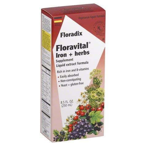 salus haus salus haus floradix floravital iron herbs from whole foods