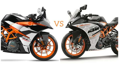 Difference Between Ktm 200 And 390 2017 Ktm Rc 390 Vs Ktm Rc 390 5 Key Differences
