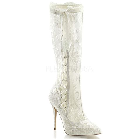 Wedding Boots by Ivory Lace Shabby Chic Vintage Bridal
