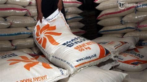 Karung Bulog Surabaya bulog sulut masih sulit menyerap beras petani lokal