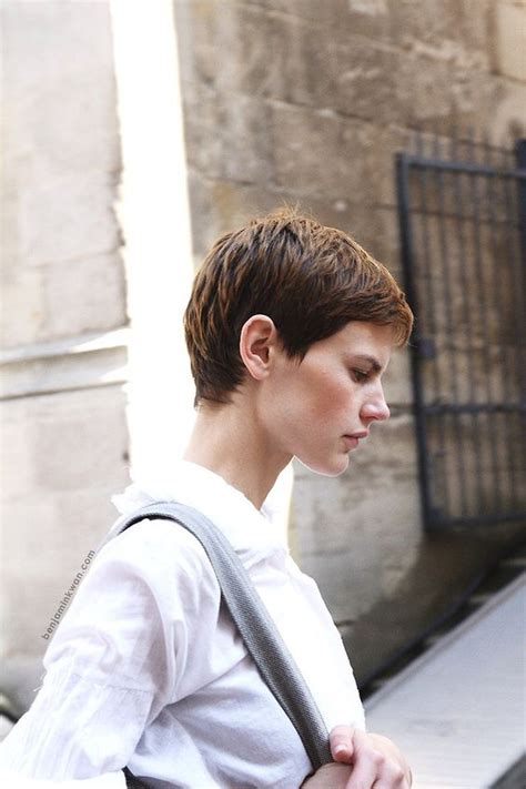 gamine haircut photos saskia de brauw gamine haircut photo shoot pinterest