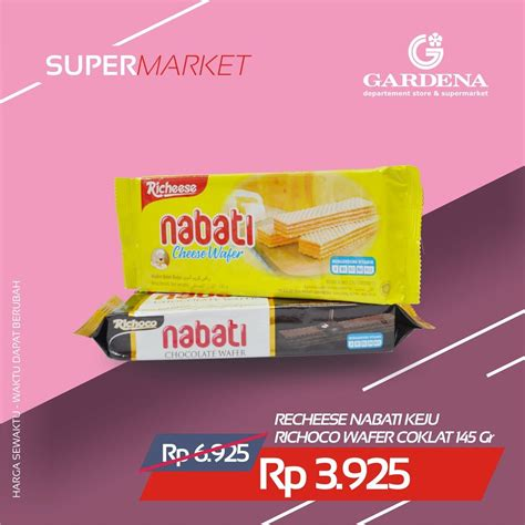 Richeese Wafer Keju 145gr nabati hashtag on