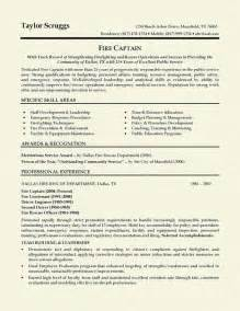 Resume Samples In Pdf by Fireman Resume Example