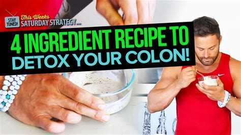 The About Cancer Detox by 4 Ingredient Recipe To Detox Your Colon Saturday