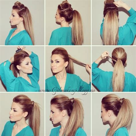 how to do a puff hairstyle steps by step puff pony hairstyle step by step hairstylegalleries com