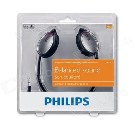 Philips Shs 390 98 philips shs390 98 neckband wired headphone for outdoor free shipping dealextreme