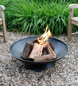 Large Steel Fire Pit Bowl - extra large black metal outdoor fire bowl fire pits