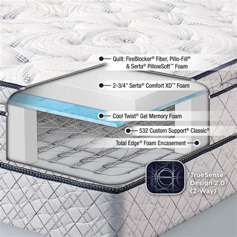 serta sleeper pillow top mattress home