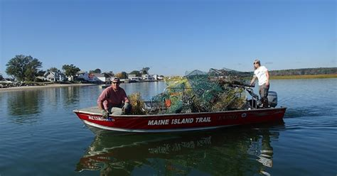boat trash with maine lobster caign to keep islands wild and pristine gearjunkie