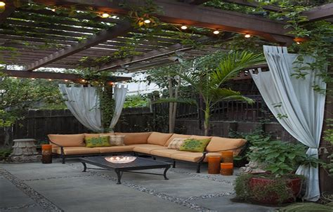 Backyard Cement Patio Ideas Concrete Patio Ideas And Designs Landscaping Gardening Ideas