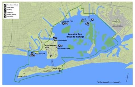 kayak map jamaica bay kayak trails gateway national recreation area u s national park service