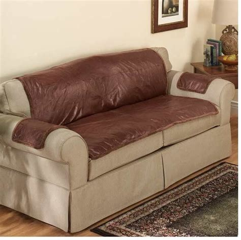 Sofa Covers For Leather Couches by Leather Furniture Covers Made Of Patchwork Leather Non