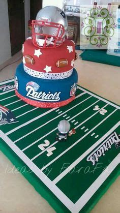 patriots cake edible plaque walmart grocery stores football  england patriots