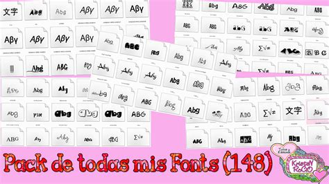 dafont font pack pack de todas mis fonts 148 by rooheditions on deviantart